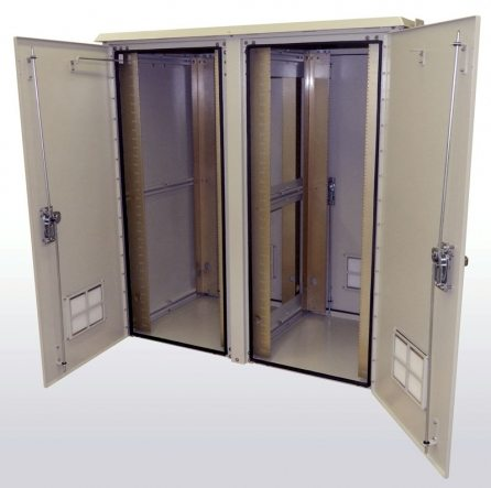 Double Bay Outdoor Enclosures