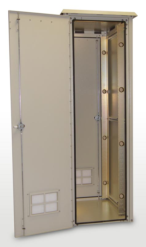 Od 78ddc 78 h x 34 d outdoor electrical boxes rack - Outdoor electrical enclosures cabinets ...