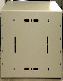 Pole or Wall Mounting Shelf for Enclosures