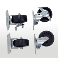 Caster Kit for Outdoor Enclosures