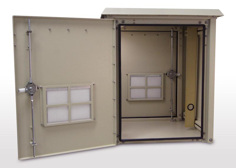 Single Bay Outdoor Enclosure