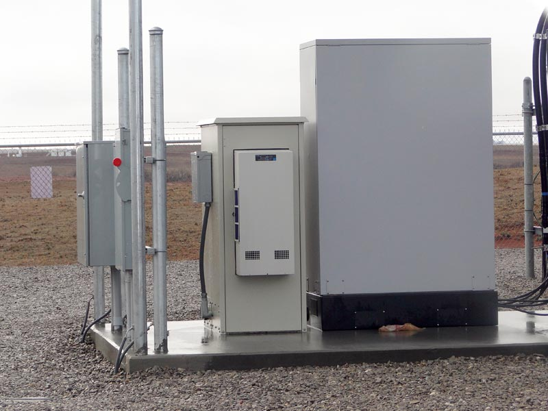 Oil Field Outdoor Enclosures